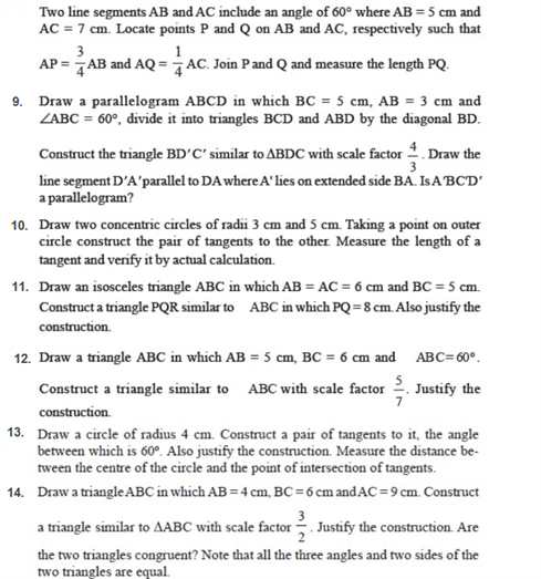important questions class 10 maths chapter 11 constructions 3