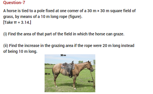 Important Questions Class 10 Maths Chapter 12 Areas Related Circles Part 7
