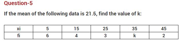 Important Questions Class 10 Maths Chapter 14 statistics Part 5
