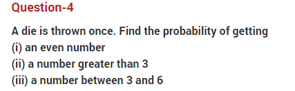 Important Questions Class 10 Maths Chapter 15 Probability Part 4
