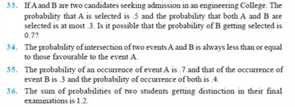 Important Questions Class 11 Maths Chapter 16 Probability Part 6