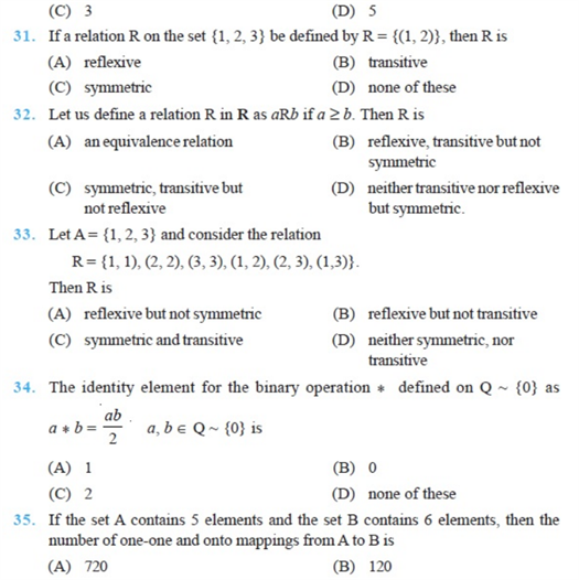 important questions class 12 maths chapter 1 relations functions 5