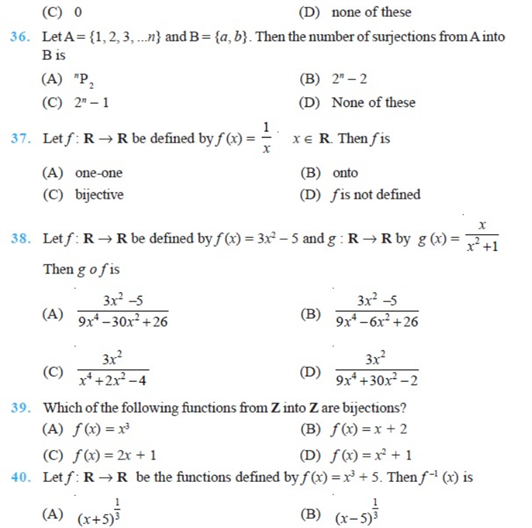 important questions class 12 maths chapter 1 relations functions 6