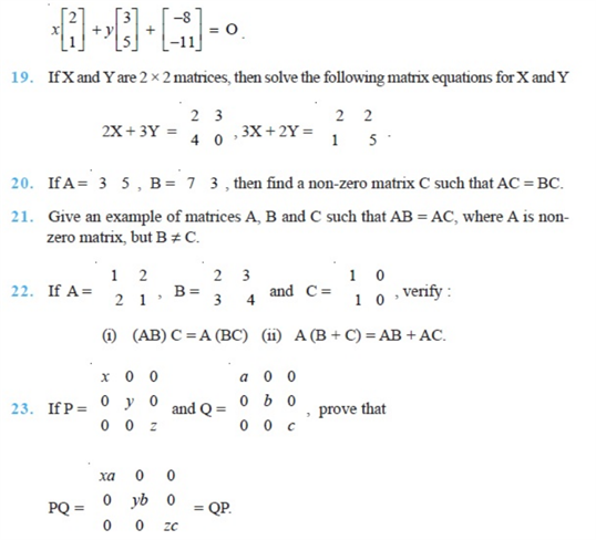 important questions class 12 maths chapter 3 matrices 4