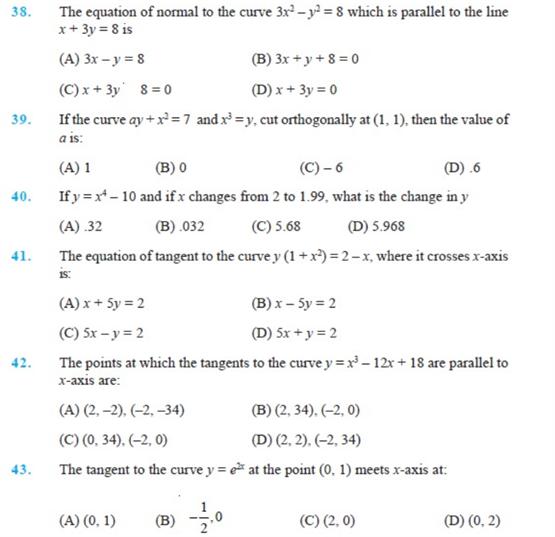 Important Questions Class 12 maths Chapter 6 Applications Derivatives Part 5