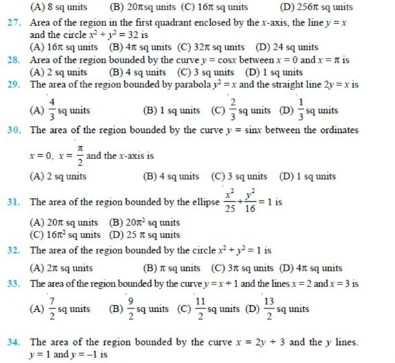 important questions class 12 maths chapter 8 applications integrals 3