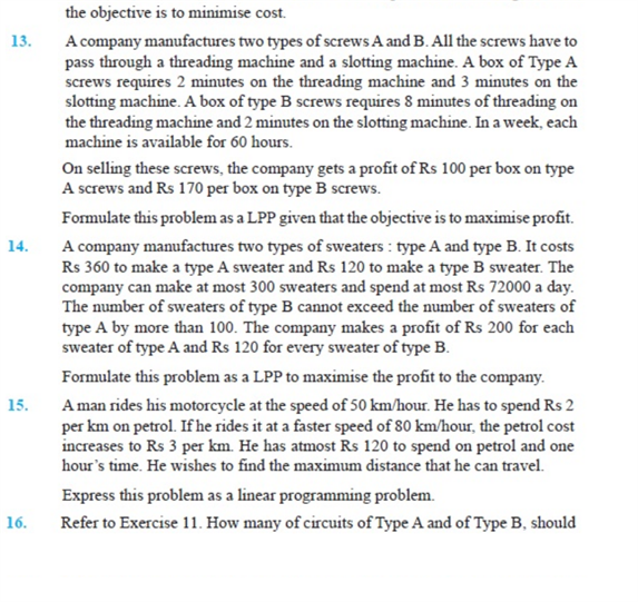important questions class 12 maths chapter 12 linear programming 5