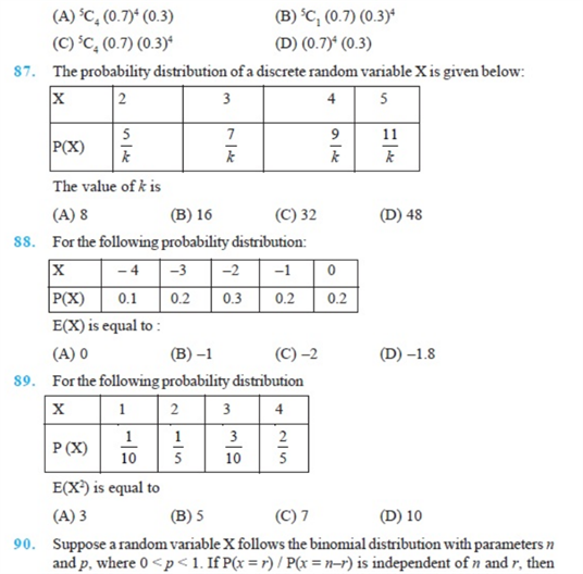 Important Questions Class 12 Maths Chapter 13 Probability Part 16