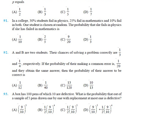 Important Questions Class 12 Maths Chapter 13 Probability Part 17