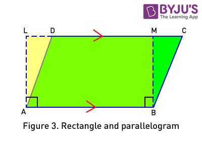 Constructing Triangle in Parallelogram