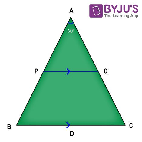 Area Of Similar Triangles example