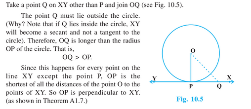 Circles For Class 10