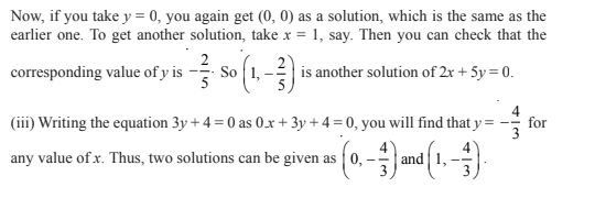Linear Equations In Two Variables Class 9