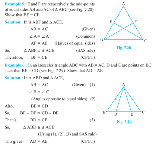 Triangles Class 9