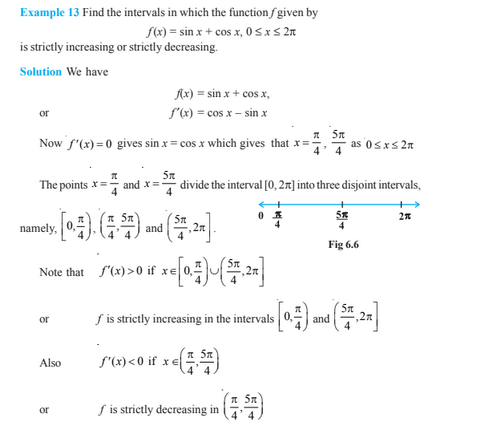 Application Of Derivatives Class 12 - Example