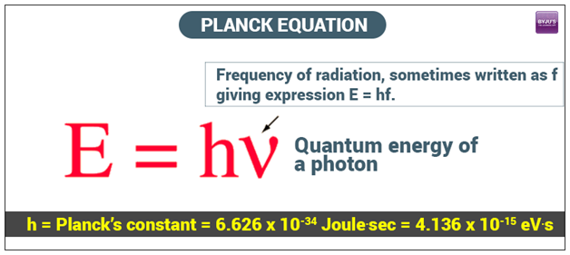 Planck's Equation