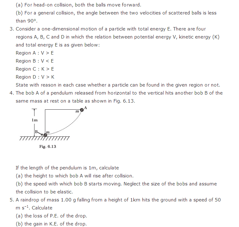important questions class 11 physics chapter 5 work energy power 3