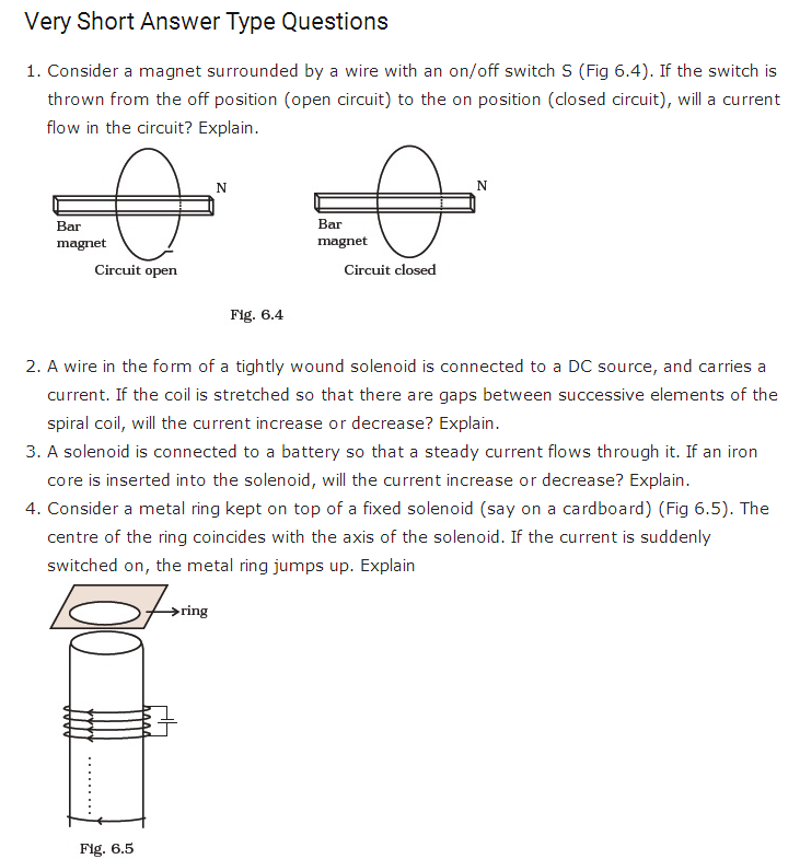 important questions class 12 physics chapter 6 electromagnetic induction 1