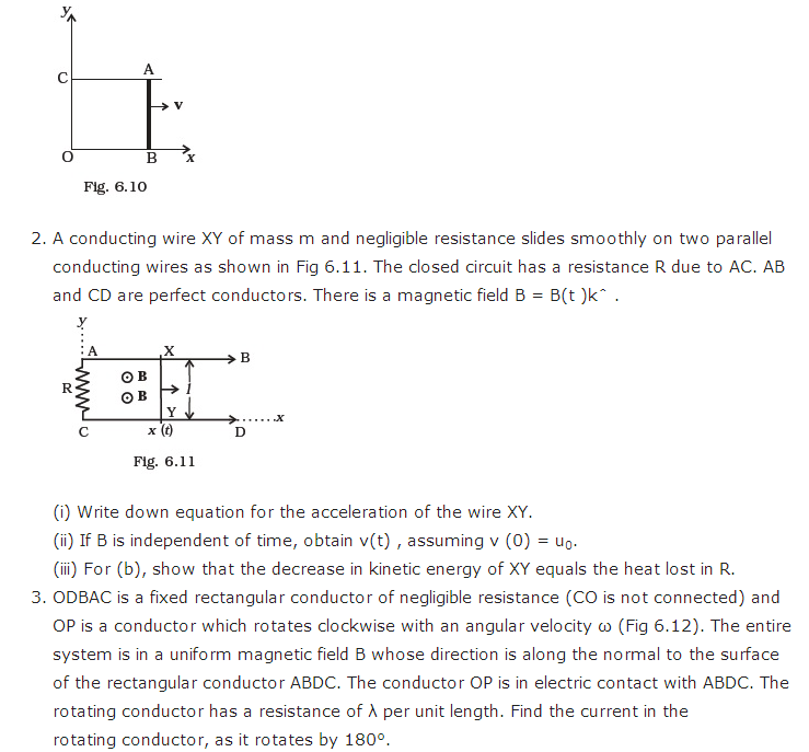 important questions class 12 physics chapter 6 electromagnetic induction 4