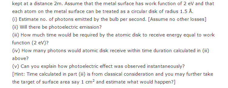 important questions class 12 physics chapter 11 dual nature radiation matter 4