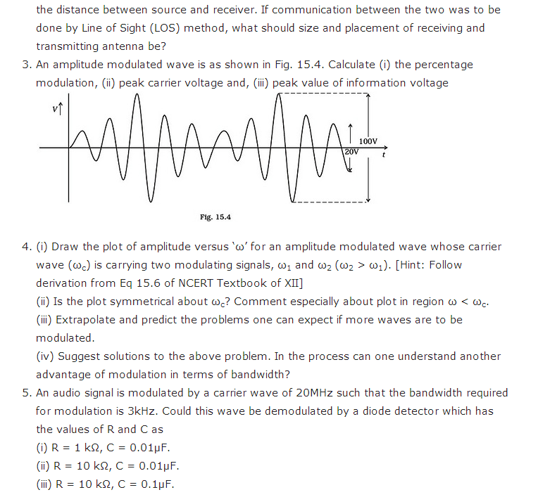 important questions class 12 physics chapter 15 communication systems 3