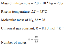 Physics Numericals Class 11 Chapter 12 5