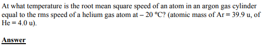 Physics Numericals Class 11 Chapter 13 27
