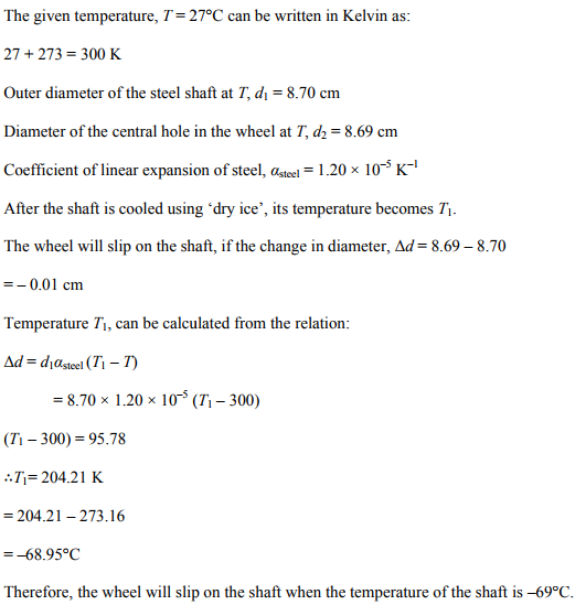 Physics Numericals Class 11 Chapter 11 20