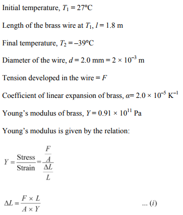 Physics Numericals Class 11 Chapter 11 25