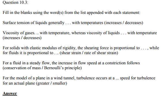 Physics Numericals Class 11 Chapter 10 8