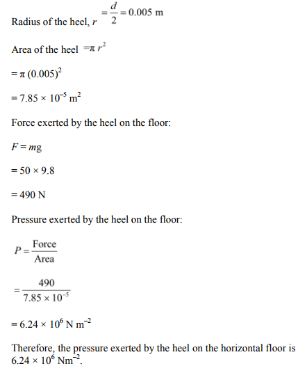 Physics Numericals Class 11 Chapter 10 14