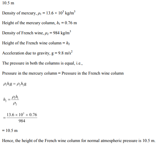Physics Numericals Class 11 Chapter 10 16