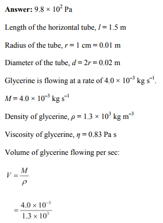 Physics Numericals Class 11 Chapter 10 31
