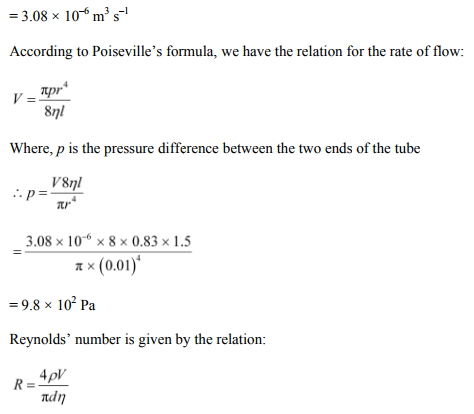 Physics Numericals Class 11 Chapter 10 32