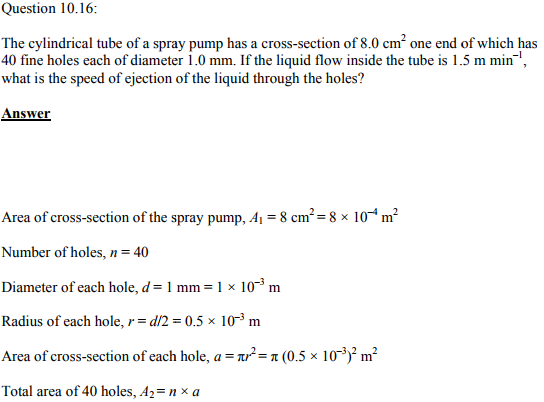 Physics Numericals Class 11 Chapter 10 42