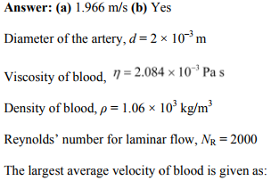 Physics Numericals Class 11 Chapter 10 70