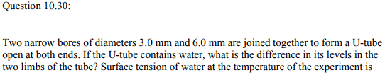 Physics Numericals Class 11 Chapter 10 84