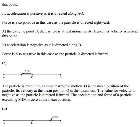 Physics Numericals Class 11 Chapter 14 16