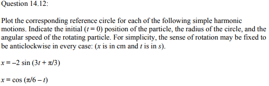 Physics Numericals Class 11 Chapter 14 40