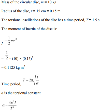 Physics Numericals Class 11 Chapter 14 91