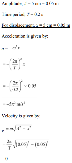 Physics Numericals Class 11 Chapter 14 95