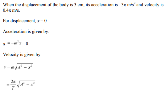 Physics Numericals Class 11 Chapter 14 98