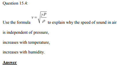 Physics Numericals Class 11 Chapter 15 10