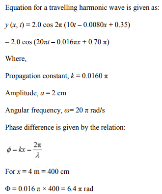 Physics Numericals Class 11 Chapter 15 32