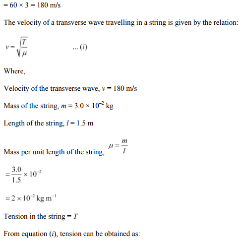 Physics Numericals Class 11 Chapter 15 38
