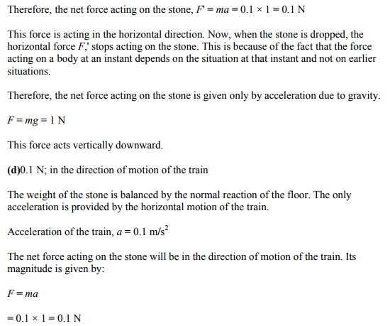 Physics Numericals Class 11 Chapter 5 7