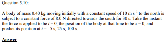 Physics Numericals Class 11 Chapter 5 23