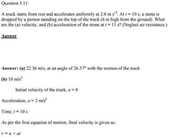 Physics Numericals Class 11 Chapter 5 27