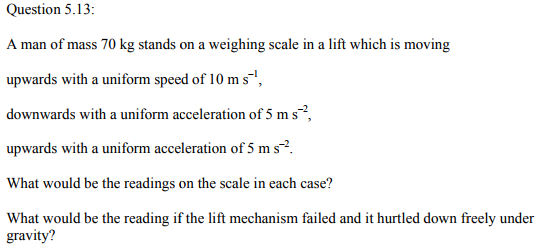 Physics Numericals Class 11 Chapter 5 33