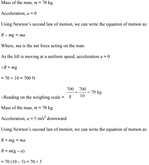 Physics Numericals Class 11 Chapter 5 35